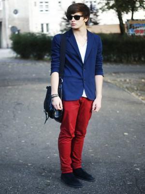 blazer masculino azul royal