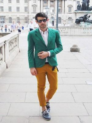 blazer masculino verde