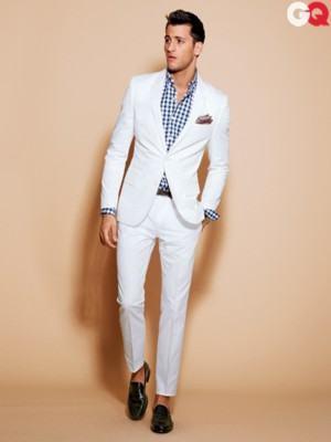 como usar blazer branco