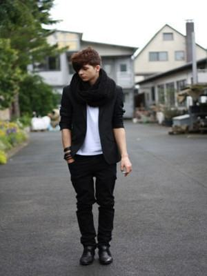 como usar blazer masculino preto