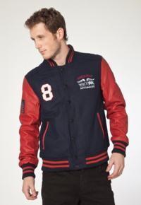 comprar jaqueta college vermelha