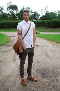 bolsa masculina carteiro