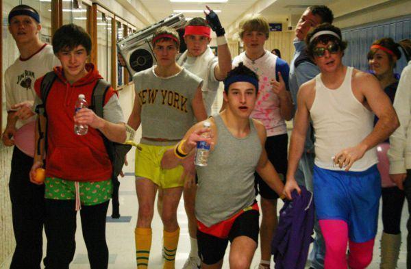 roupa dos anos 80 masculinas