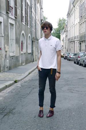 camisa polo branca