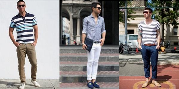 Camisa listrada masculina - Como usar e combinar   Bar Moda Masculina ff6c7e1346