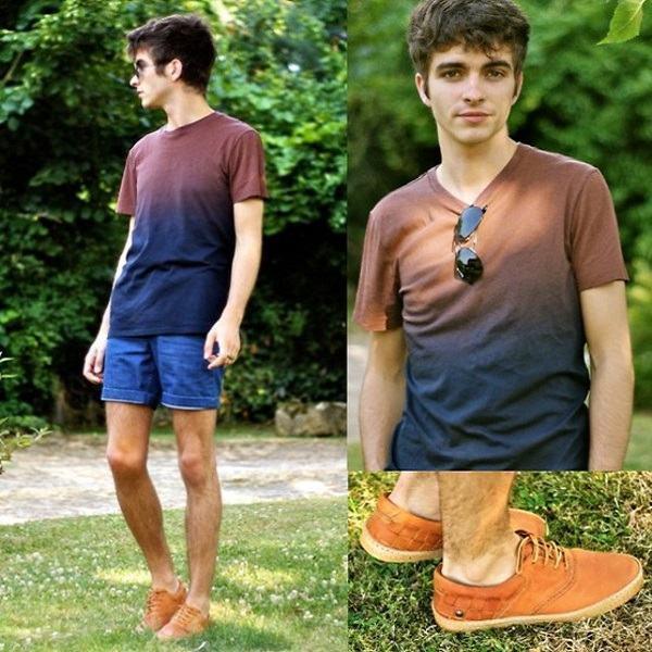 short masculino curto