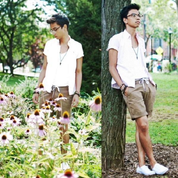 short masculino social