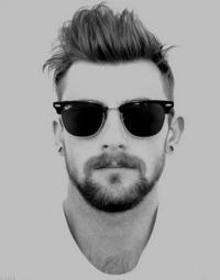 óculos masculino na moda