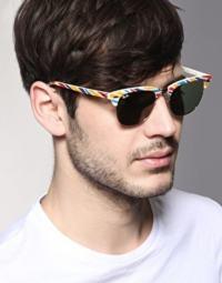 óculos na moda colorido masculino