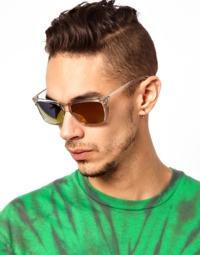 óculos transparente moda masculina
