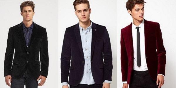 Resultado de imagem para tendencias moda masculina veludo