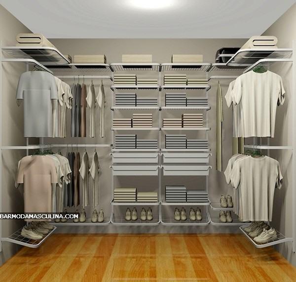 Closet Aramado Preto : Closet masculino fotos e como fazer x?nia
