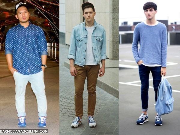 tênis da moda homens 2014