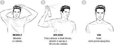como usar spray finalizador axe matte effect
