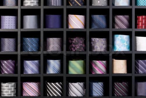 guardar gravata