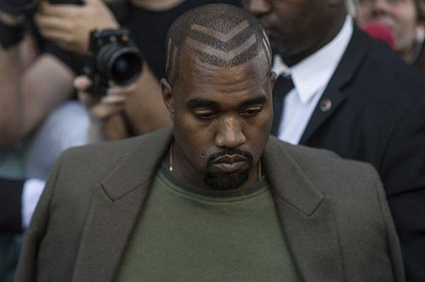 os estilos do cabelo de kanye west bar moda masculina