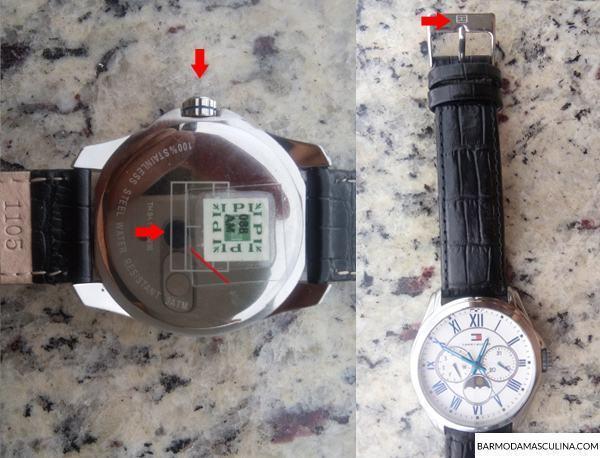 997b4199146 Relógio da Tommy – Original ou Falso  Descubra!
