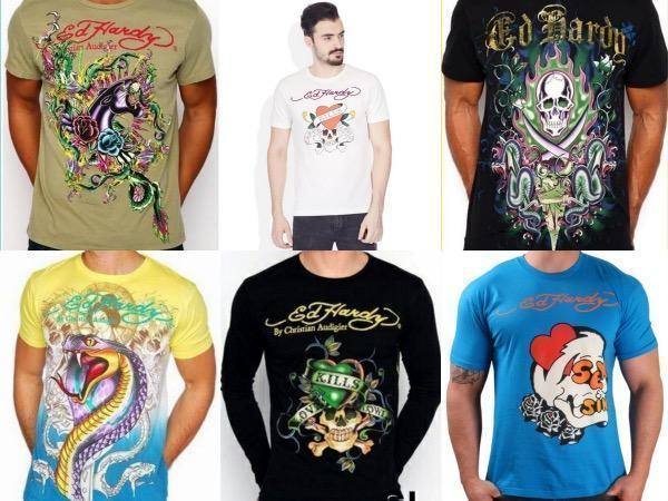 camisas ed hardy