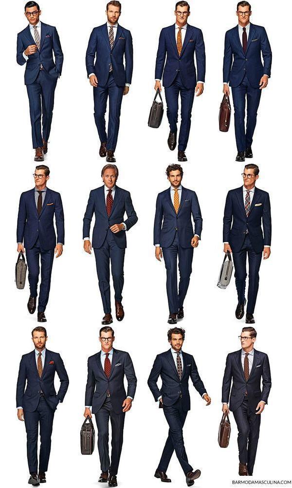 terno-trabalhar-cor-gravata-camisa