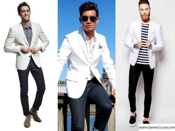 3dd4c5c2e0 Blazer branco masculino - Como usar