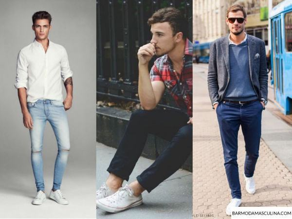 look-masculino-all-star-branco