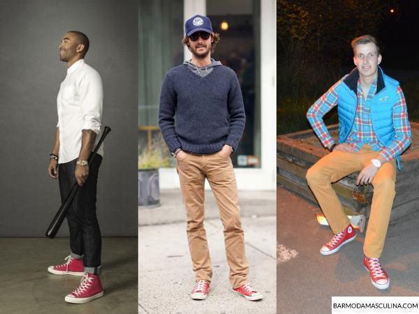 look-masculino-all-star-vermelho